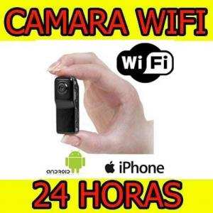 Camara Espia  Reporteros Wifi Inalambrica Iphone Tablet Android